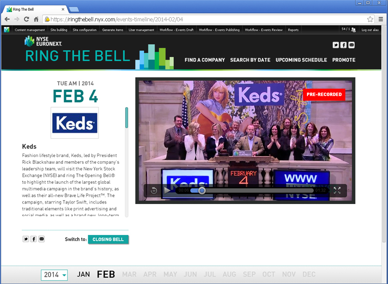 NYSE Ring The Bell